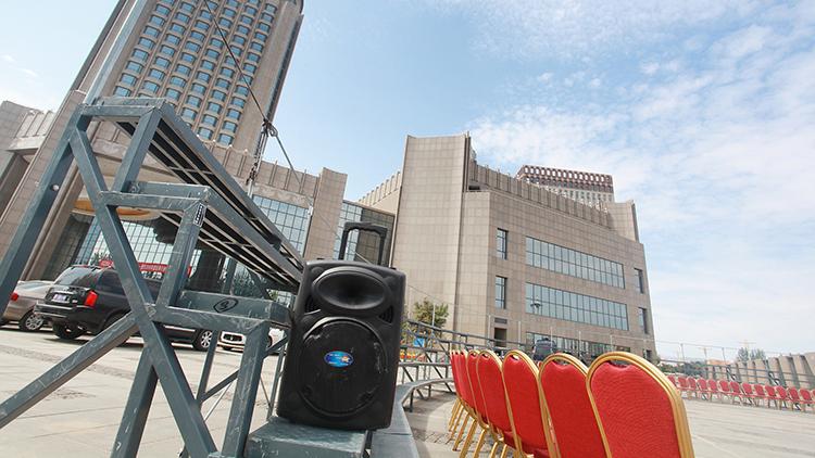 呼和浩特集體合影站架供應標準案例